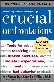 Crucial Confrontations by Kerry Patterson: Book Cover