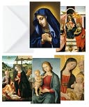 CLASSICAL MADONNAS FOLIO CHRISTMAS BOXED CARD by Museums & Galleries: Product Image