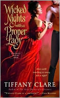 Wicked Nights with a Proper Lady (Dangerous Rogues Series #1) by Tiffany Clare: NOOK Book Cover