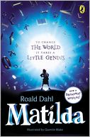Matilda by Roald Dahl: Book Cover