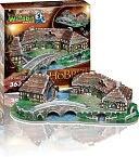 The Hobbit, Hobbiton Puzzle by Wrebbit Puzzles Inc.: Product Image