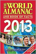The World Almanac and Book of Facts 2013 by Sarah Janssen: Book Cover