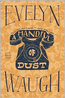 A Handful of Dust by Evelyn Waugh: Book Cover