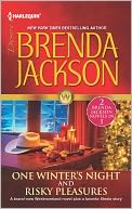 One Winter's Night &amp; Risky Pleasures by Brenda Jackson: NOOK Book Cover