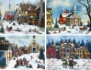 FOLK ART ASSORTED CHRISTMAS BOXED CARD by Perfect Timing Inc.: Product Image