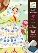 Djeco Flower Maidens Stamps Set by Djeco: Product Image