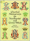 Charted Monograms for Needlepoint and Cross-Stitch by Rita Weiss: Book Cover