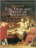 The Trial and Death of Socrates by Plato: NOOK Book Cover