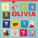 Olivia Matching Game by Ian Falconer: Item Cover