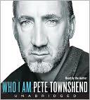 Who I Am by Pete Townshend: CD Audiobook Cover