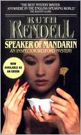 Speaker of Mandarin by Ruth Rendell: NOOK Book Cover