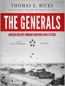 The Generals by Thomas E. Ricks: Audio Book Cover