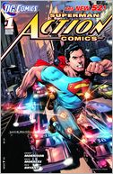 Action Comics #1 (2011- ) (NOOK Comics with Zoom View) by Grant Morrison: NOOK Book Cover
