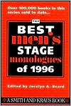 download The Best Men's Stage Monologues of 1996 book