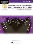 Stephen Sondheim - Broadway Solos by Stephen Sondheim: Item Cover
