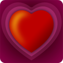 Valentine's Burst by Fantom Apps: NOOK App Cover