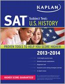 Kaplan SAT Subject Test U.S. History 2013-2014 by Kaplan: Book Cover