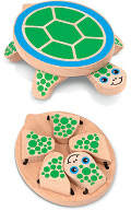 Melissa & Doug Peek-a-Boo Turtle by Melissa & Doug: Product Image
