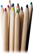 P'kolino 12 Triangle Pencils by P'kolino: Product Image
