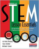 STEM Lesson Essentials, Grades 3-8 by Jo Anne Vasquez: Book Cover