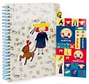 Madeline Sticker Pouch Journal by Barnes & Noble: Product Image