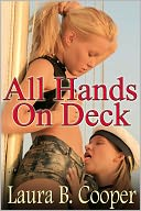 All Hands On Deck (erotic / erotica / menage / slut / couple play / boat sex) by Laura Cooper: NOOK Book Cover
