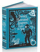 Twenty Thousand Leagues Under the Sea (Barnes & Noble Leatherbound Classics) by Jules Verne: Book Cover