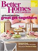 Better Homes and Gardens by Meredith Corporation: NOOK Magazine Cover