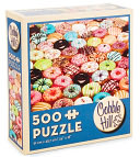 Doughnuts 500 piece puzzle by Outset Media: Product Image