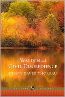 Walden and Civil Disobedience (Barnes &amp; Noble Signature Editions) by Henry David Thoreau: NOOK Book Cover