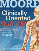 Clinically Oriented Anatomy by Keith L. Moore: Book Cover