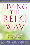 Living the Reiki Way by Penelope Quest: NOOK Book Cover