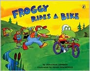 Froggy Rides a Bike by Jonathan London: Book Cover
