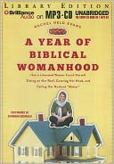 A Year of Biblical Womanhood by Rachel Held Evans: Audiobook Cover