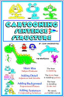 Cartooning Sentence Structure by John VanDenEykel: NOOK Book Cover