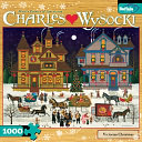 Charles Wysocki Holiday Puzzle by Buffalo Games, Inc: Product Image