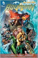 Aquaman Vol. 2 by Geoff Johns: Book Cover