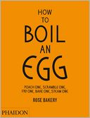 How to Boil an Egg by Rose Carrarini: Book Cover
