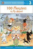 100 Monsters in My School by Bonnie Bader: NOOK Kids Read to Me Cover
