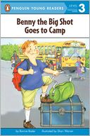 Benny the Big Shot Goes to Camp by Bonnie Bader: NOOK Kids Read to Me Cover