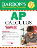 Barron's AP Calculus, 12th Edition by David Bock: Book Cover