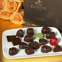 Godiva 16 Piece Dark Chocolate Assortment by Godiva: Product Image