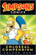 Simpsons Comics Colossal Compendium by Matt Groening: Book Cover