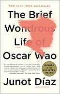The Brief Wondrous Life of Oscar Wao by Junot Díaz: NOOK Book Cover