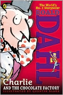 Charlie and the Chocolate Factory by Roald Dahl: Book Cover