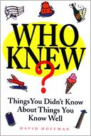 Who Knew? by David Hoffman: NOOK Book Cover