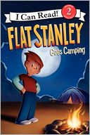 Flat Stanley Goes Camping by Jeff Brown: Book Cover