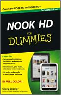 NOOK HD For Dummies, Portable Edition by Corey Sandler: NOOK Book Cover