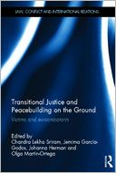 Transitional Justice and Peacebuilding on the Ground by Chandra Lekha Sriram: Book Cover