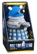 Doctor Who & Torchwood Blue Dalek Talking Plush by Underground Toys LLC: Product Image